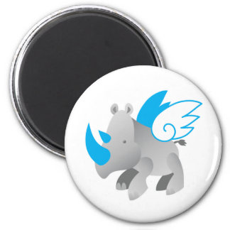 Angels come in all sizes RHINO Magnet