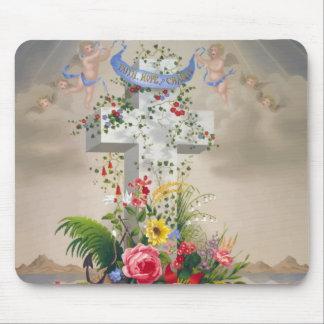 Angels/cross Mousepad