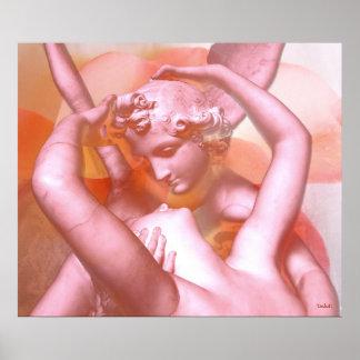 Angels Embrace Print