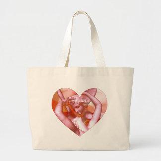 Angels Embrace Jumbo Tote Bag