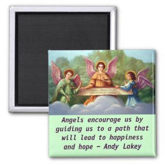 Angels encourage magnet