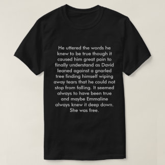 Angel's Flight Book Quote 2 T-Shirt