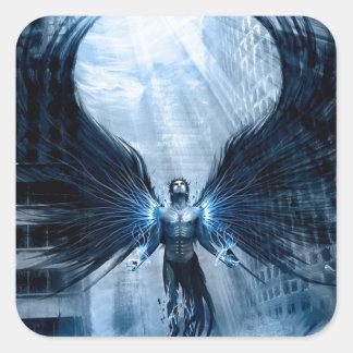 angels-fury.jpg square sticker