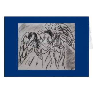 """Angels"" Greeting Card"