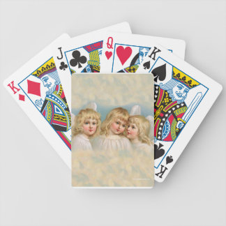 Angels in a Pastel Sky Bicycle Playing Cards