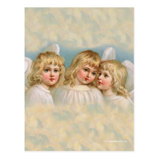 Angels in a Pastel Sky Postcard