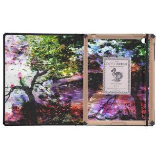 Angels in Monet's garden Cases For iPad