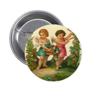 Angels in The Garden Pin