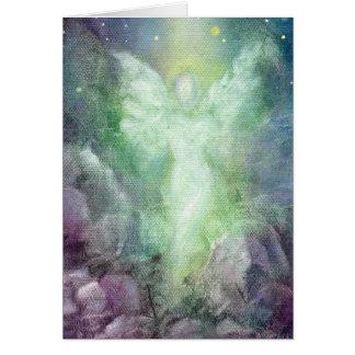 """Angel's Journey"" Fine Art Greeting Card"