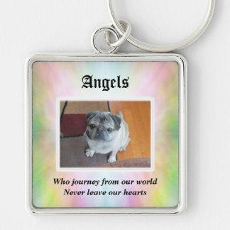 Angels Journey Pet Sympathy Keychain