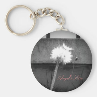 Angel's Kiss Basic Round Button Key Ring