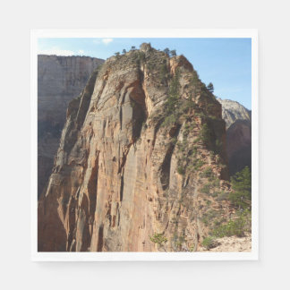 Angels Landing at Zion National Park Disposable Napkins