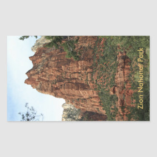 Angels Landing Rectangular Sticker