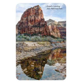 Angel's Landing Zion National Park Rectangular Photo Magnet