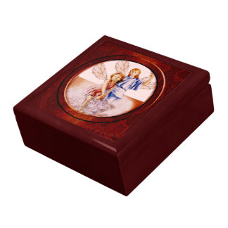 Angels Large Square Gift Box