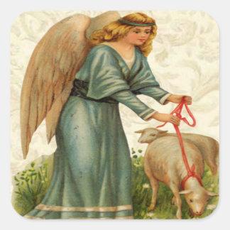 Angels Little Lamb Stickers