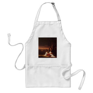 'Angels Ministering to Christ in the Wilderness' Standard Apron