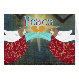 Angels of Peace Christmas card