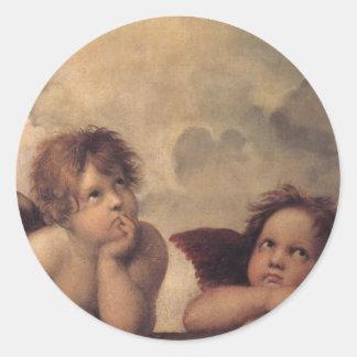 Angels of wonder sticker