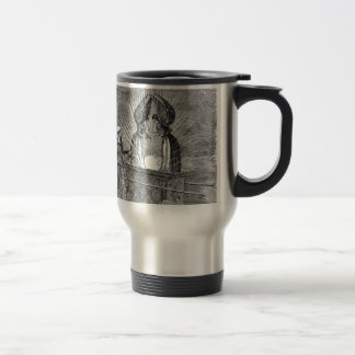 Angels over the Ark of the Covenant Travel Mug