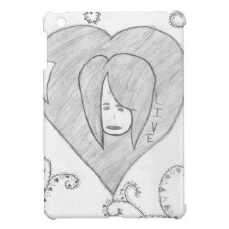 Angels Peace Love Live Drawing iPad Mini Cover