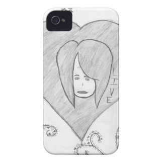 Angels Peace Love Live Drawing iPhone 4 Covers