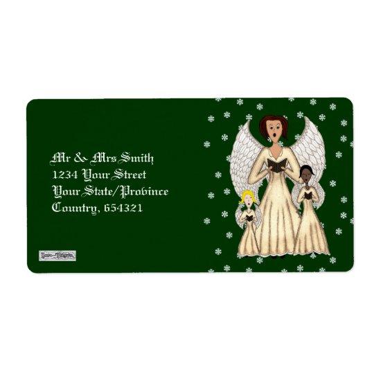 Angels Singing Carols (Gold)