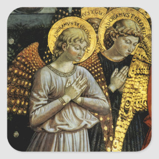 Angels Square Sticker