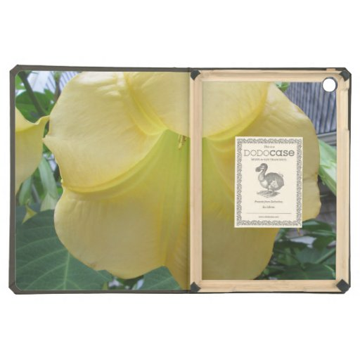 Angels Trumpet Golden Yellow Flower Case For iPad Air