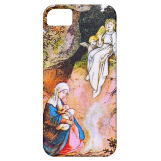 Angels watching over Jesus iPhone 5 Cover