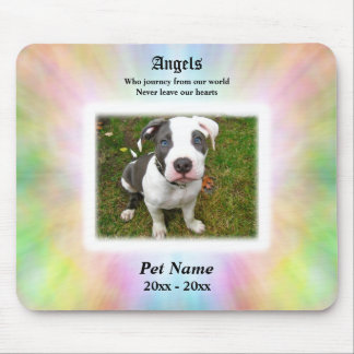 Angels who Journey Pet Sympathy Mouse Pad
