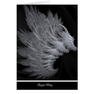 Angels Wing note card