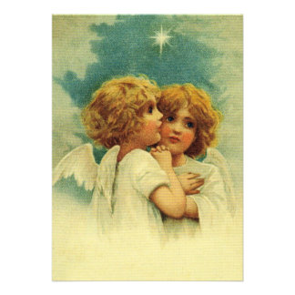 Angels with Blue Eyes Invites