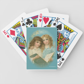 Angels With Book Poker Deck