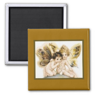 Angels with Butterfly Wings Magnet
