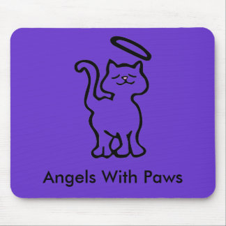 Angels With Paws Mouse Pad
