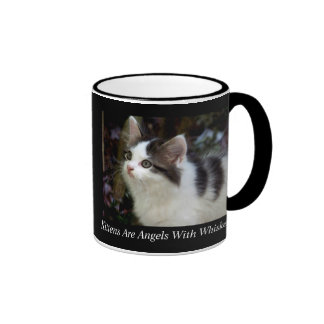 Angels With Whiskers (kitten) Mug