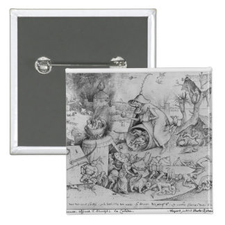 Anger, 1557 15 cm square badge
