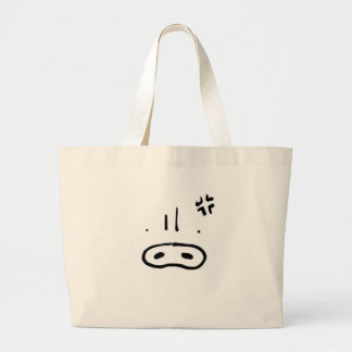 Anger cover tote bag