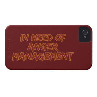 Anger Management custom color Blackberry case