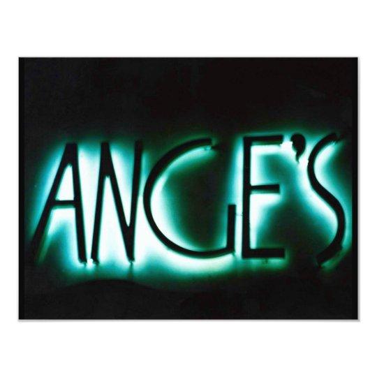 ANGE'S ANGELS PARTY INVITATION INVITE ANGE ANGEL