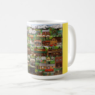 Angies Gold Post Sumpter Coffee Cup