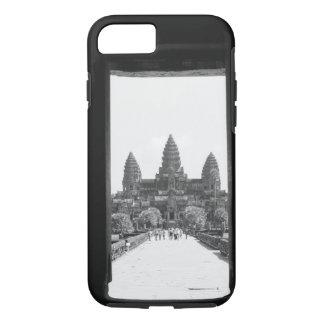 Angkor Cambodia, Angkor Wat Doorway View 2 iPhone 7 Case