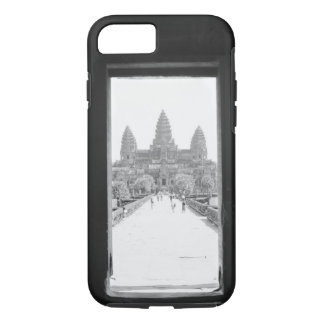 Angkor Cambodia, Angkor Wat Doorway View iPhone 7 Case