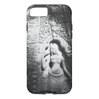 Angkor Cambodia, Apsara Carving The Bayon iPhone 7 Case