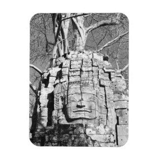 Angkor Cambodia, Head Ta Som Temple Rectangular Photo Magnet
