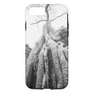 Angkor Cambodia, Tree Ta Prohm iPhone 7 Case