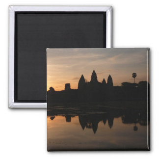 angkor sun reflect square magnet