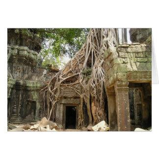 Angkor Wat Cambodia Greeting Card