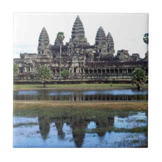 Angkor Wat Cambodia Temple Travel Photography Tile